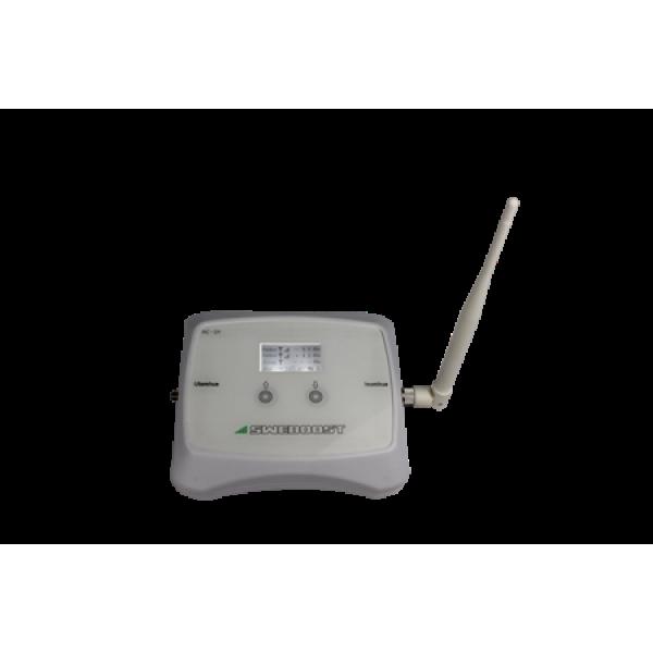 GSM Repeater 70 dB gain 16 dBm output, mobilförstärkare för TELIA TELE2 el .(* TELENOR )